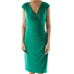 Cap sleeved ruched dress Lauren Ralph Laur…